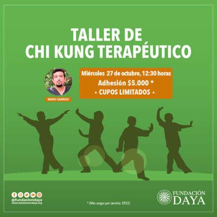 Taller de Chi Kung Terapéutico 27 octubre 2021