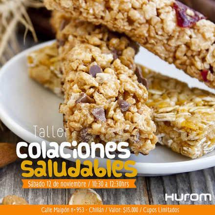 Taller de Colaciones Saludables - Chillan 12 Noviembre