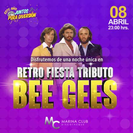 Retro Fiesta con Tributo a Bee Gees