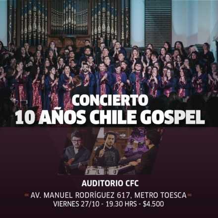 Chile gospel 10 años