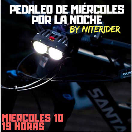 NightRide by The Good Bike & NiteRider Abril