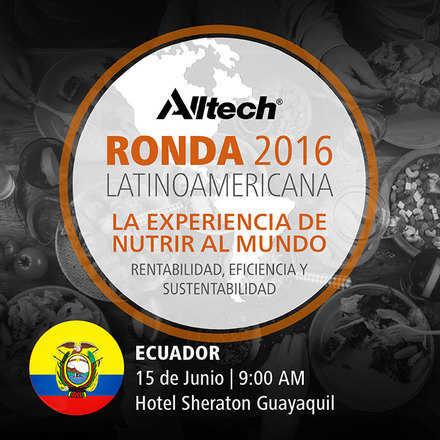 Ronda Latinoamericana 2016 de Alltech Ecuador