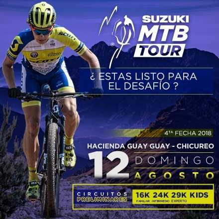 Suzuki MTB Tour 4ª Fecha 12 de Agosto, Hacienda Guay Guay, Chicureo, Colina