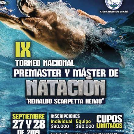 IX TORNEO NACIONAL MASTER NATACION  CCC