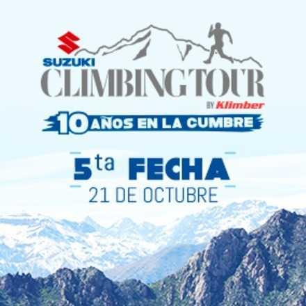 Climbing Tour 5a Fecha 2018. 20 de octubre