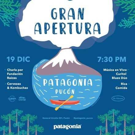 ¡Nueva tienda Patagonia Pucón!