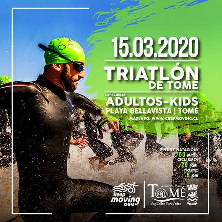 Triatlón Tomé 2020