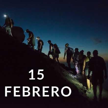 Manquehuito Sunset 15 Febrero