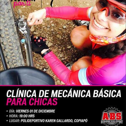 Clínica de Mecánica Básica para Chicas Atacama Bikes Sport