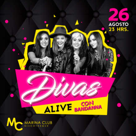Fiesta Divas ALIVE con Bandanna