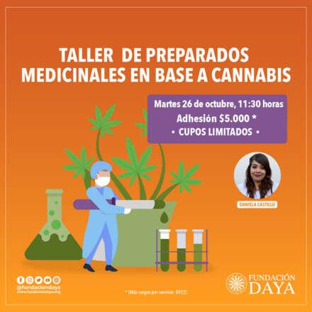 Taller de Preparados Medicinales en Base a Cannabis 26 octubre 2021