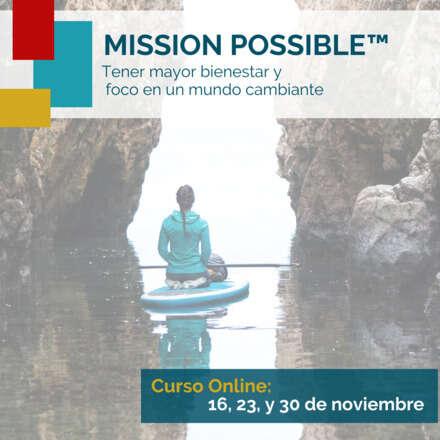 Mission Possible Noviembre
