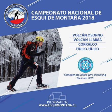 CAMPEONATO NACIONAL DE ESQUI DE MONTAÑA 2018