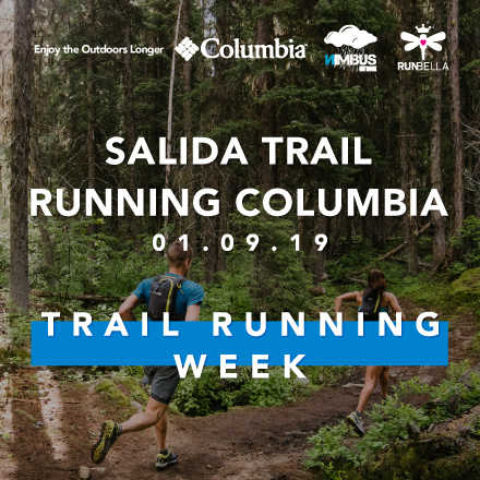 Salida Columbia Trail Running Week
