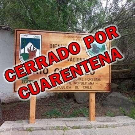 Parque Nacional Río Clarillo Domingo 18 de Julio