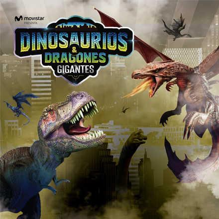 Dinosaurios y Dragones Gigantes