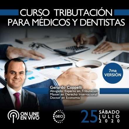 Curso Tributación para médicos y odontólogos (7a versión) ONLINE