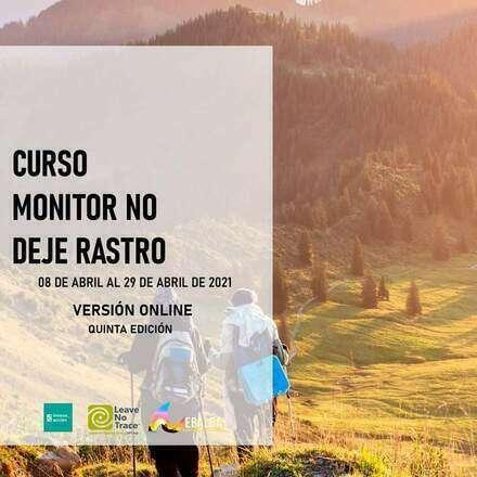 Curso Monitor No Deje Rastro, Quinta edición