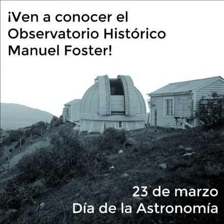 Visita al Observatorio Histórico Manuel Foster