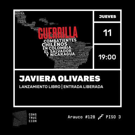 Lanzamiento libro GUERRILLA: Combatientes Chilenos en Colombia, El Salvador