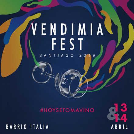 Vendimia Fest - Santiago 2019