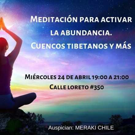 Meditación para activar la abundancia y más