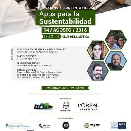Green Drinks BA - 14-08 / Apps para la Sustentabilidad