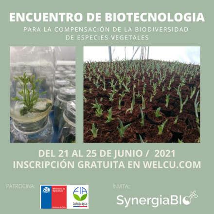 Encuentro de Biotecnología para la Compensación de la Biodiversidad de Especies Vegetales