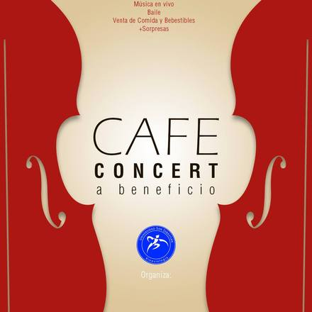 Cafe Concert a Beneficio - CEKUSS Stgo