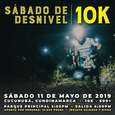Sábado de Desnivel Nocturno Cucunubá 10k