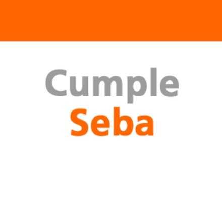 Cumpleaño Seba