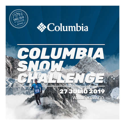 Snow Running - Columbia Snow Challenge 19'
