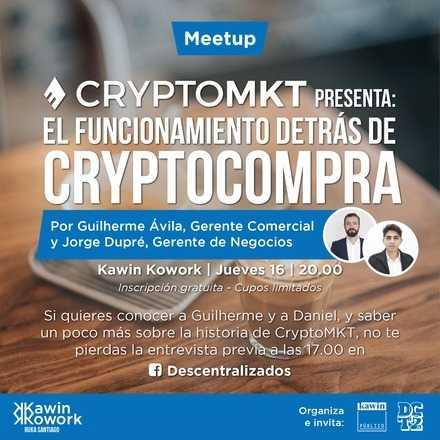 Meetup: El funcionamiento detrás de Cryptocompra