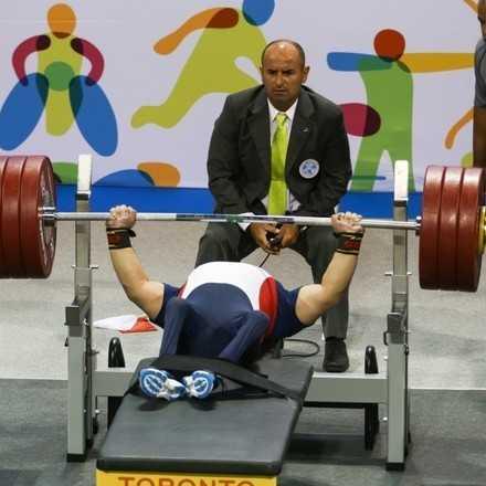 2° Fecha Campeonato Nacional Para-Powerlifting - Santiago 2018