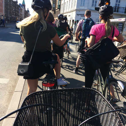Cicleayque en la tarde