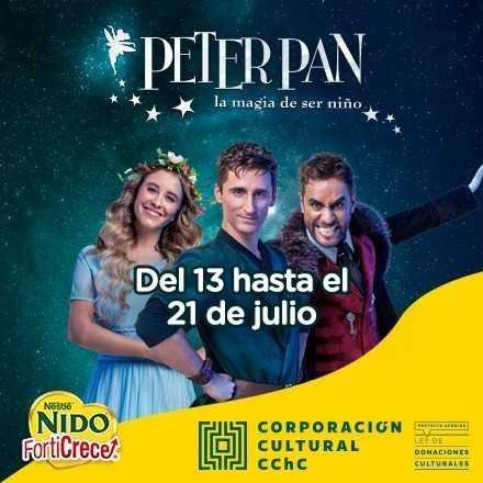Peter Pan El Musical en Frutillar