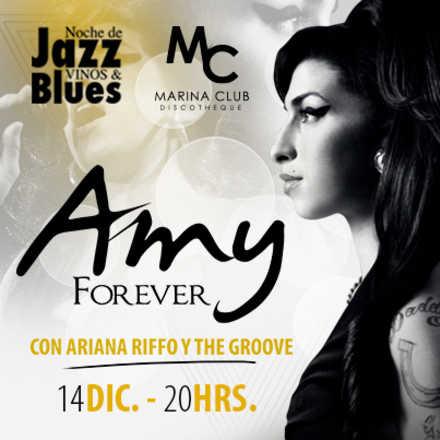 Noche de Jazz Vinos con Amy Forever
