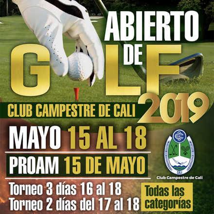 Abierto Club Campestre Cali 2019