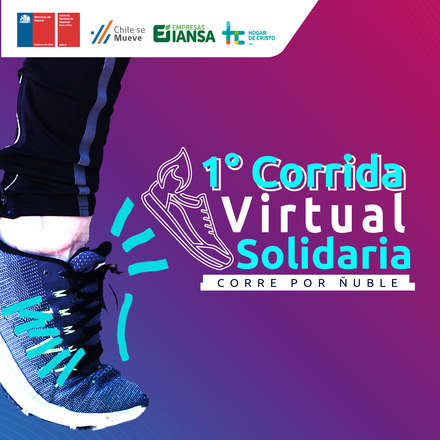 1° Corrida Virtual  Solidaria