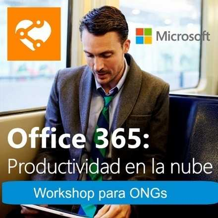 #Tech4Good Taller Office365 | Paseo Productos