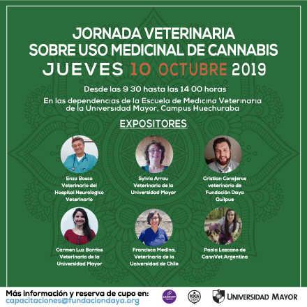 Jornada Veterinaria sobre Uso Medicinal de Cannabis