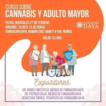 Taller Cannabis y Adulto Mayor