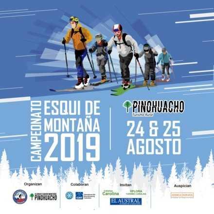 4ta Fecha Campeonato Nacional Esquí de Montaña, Pinohuacho