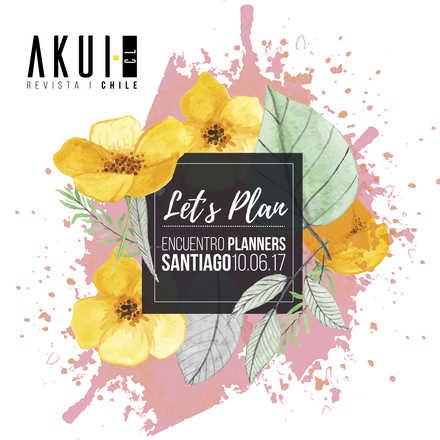 Let's Plan - Encuentro Planners Santiago