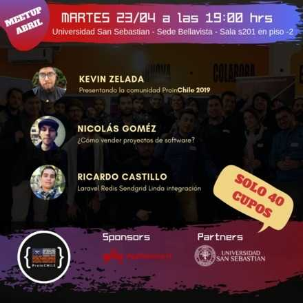 Meetup Abril 2019 Santiago