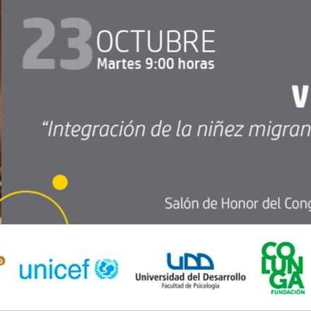 """Seminario """"Integración de la niñez migrante: un desafío país"""""""