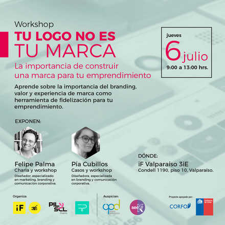 Workshop: Tu logo no es tu marca