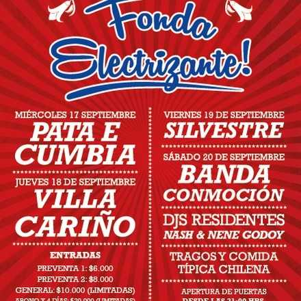 FONDA ELECTRIZANTE - CENTRO CULTURAL AMANDA