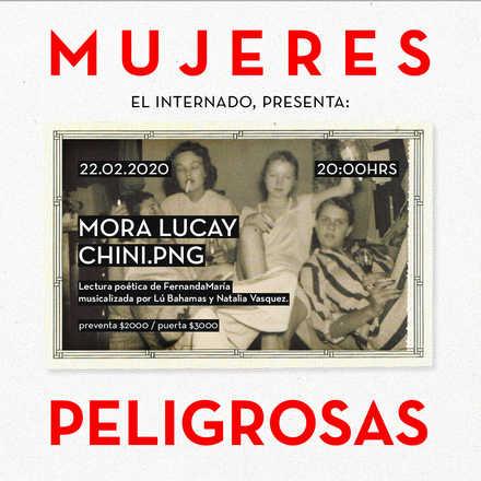 Mujeres Peligrosas: Chini.PNG + Mora Lucay