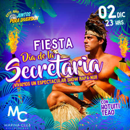 Fiesta Día de la Secretaria con Hotuiti